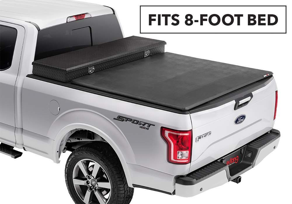 Extang Trifecta Toolbox 2 O Soft Folding Truck Bed Tonneau Cover 93415 Fits Ford F150 8 Ft Bed 09 14