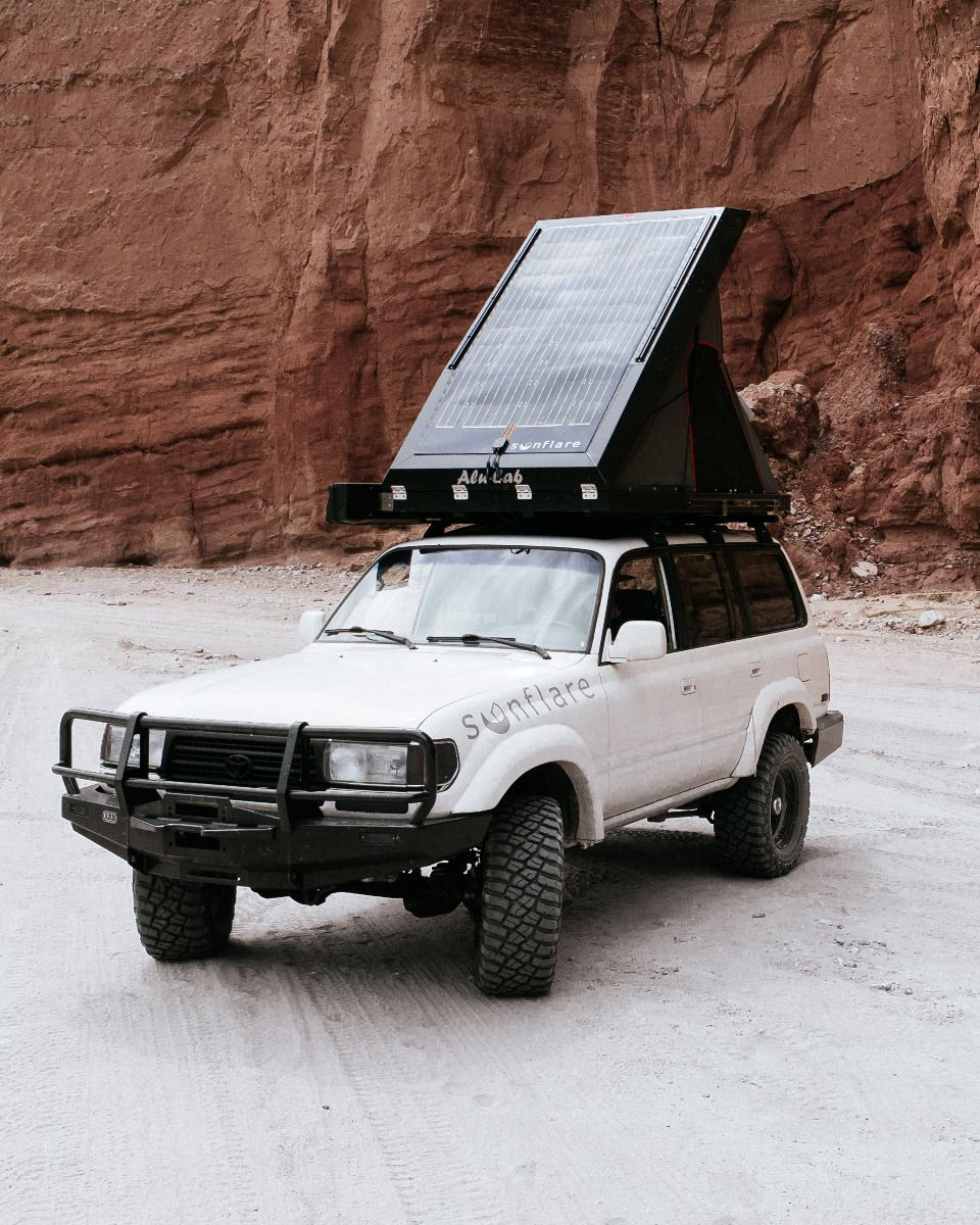 Sunflare 180w Flexible Solar Panel For Truck Roofs Ok4wd
