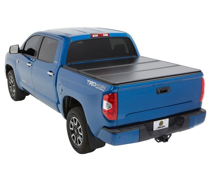 Bestop Ezfold Hard Tonneau Cover For 2005 2015 Toyota Tacoma With Utility Track 6 0 Ft Bed