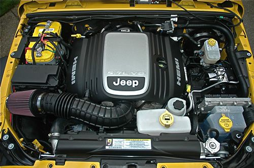 5 7 Hemi Swap Kit Jeep Wrangler V8 Conversion Kit Ok4wd