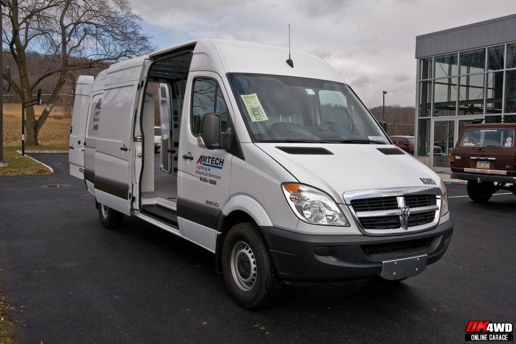 2008 Dodge Sprinter with Weather Guard Storage System