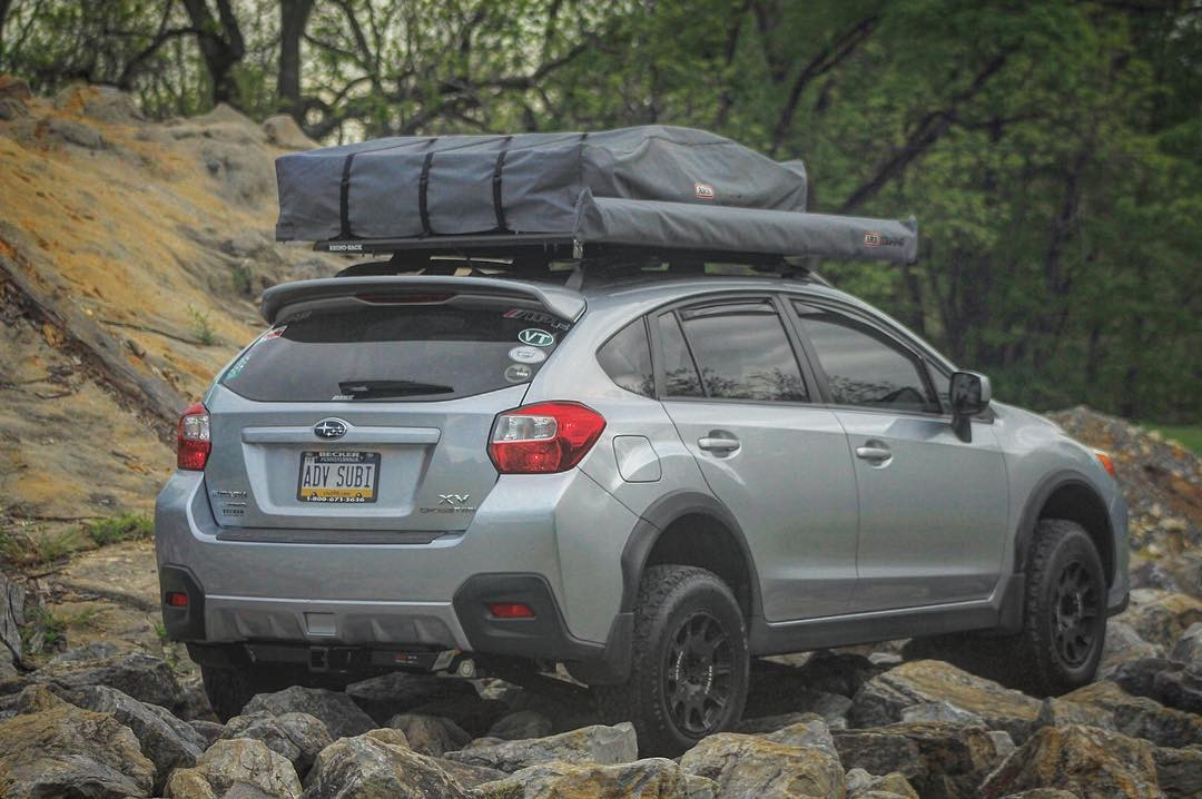 Subaru Crosstrek With Roof Rack >> 2014 Subaru XV Crosstrek Overland Build - ok4wd
