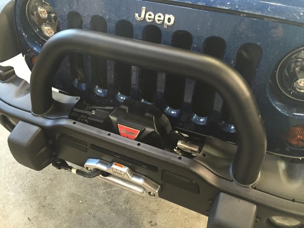 2008 Jeep Wrangler 2dr Aev Front Bumper Rear And Tire Winch Job Number O 160351 01