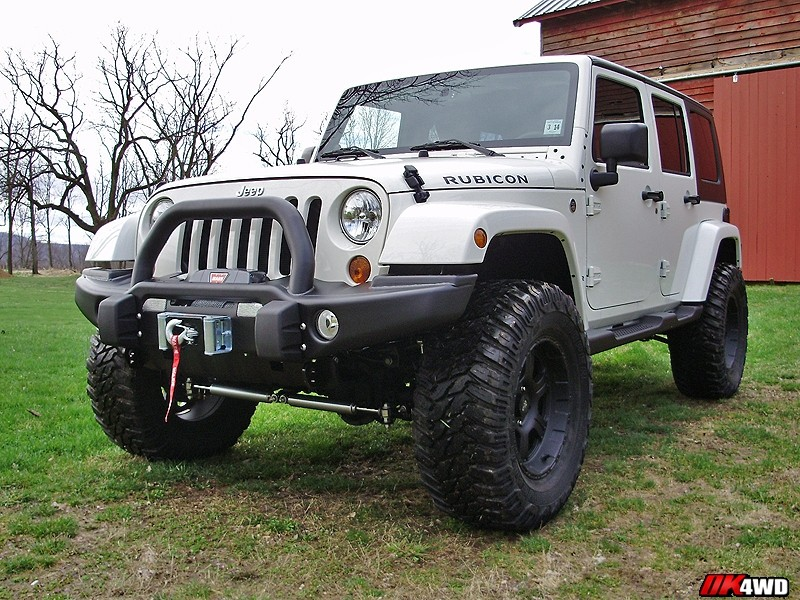 "2011 Jeep Wrangler JK with 3.5"" Lift"