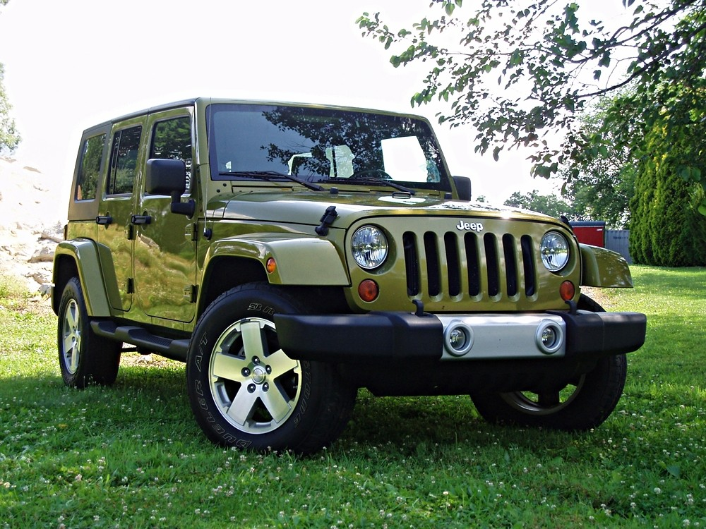 2008 Jeep Wrangler JK with 4.5″ AEV Lift