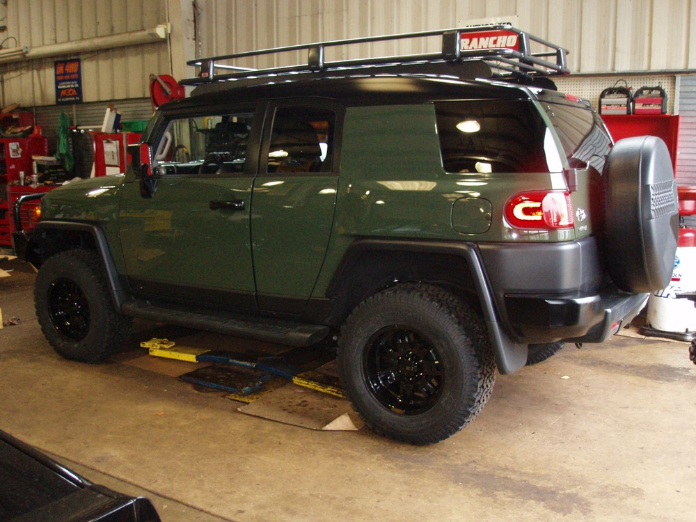 2010 Toyota FJ Cruiser Expedition Ready