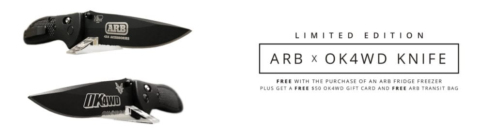 Promotion: Limited Edition ARB x OK4WD Knife