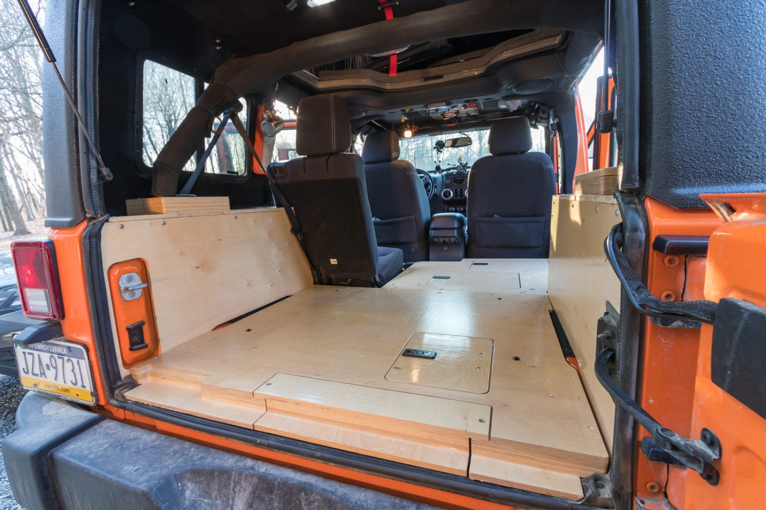 Along For The Ride Goose Gear Plate System For Jku Ok4wd