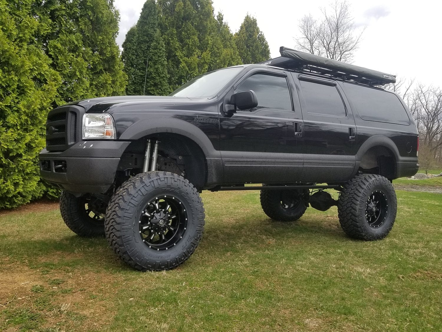 2005 Ford Excursion 12 Lift Ok4wd