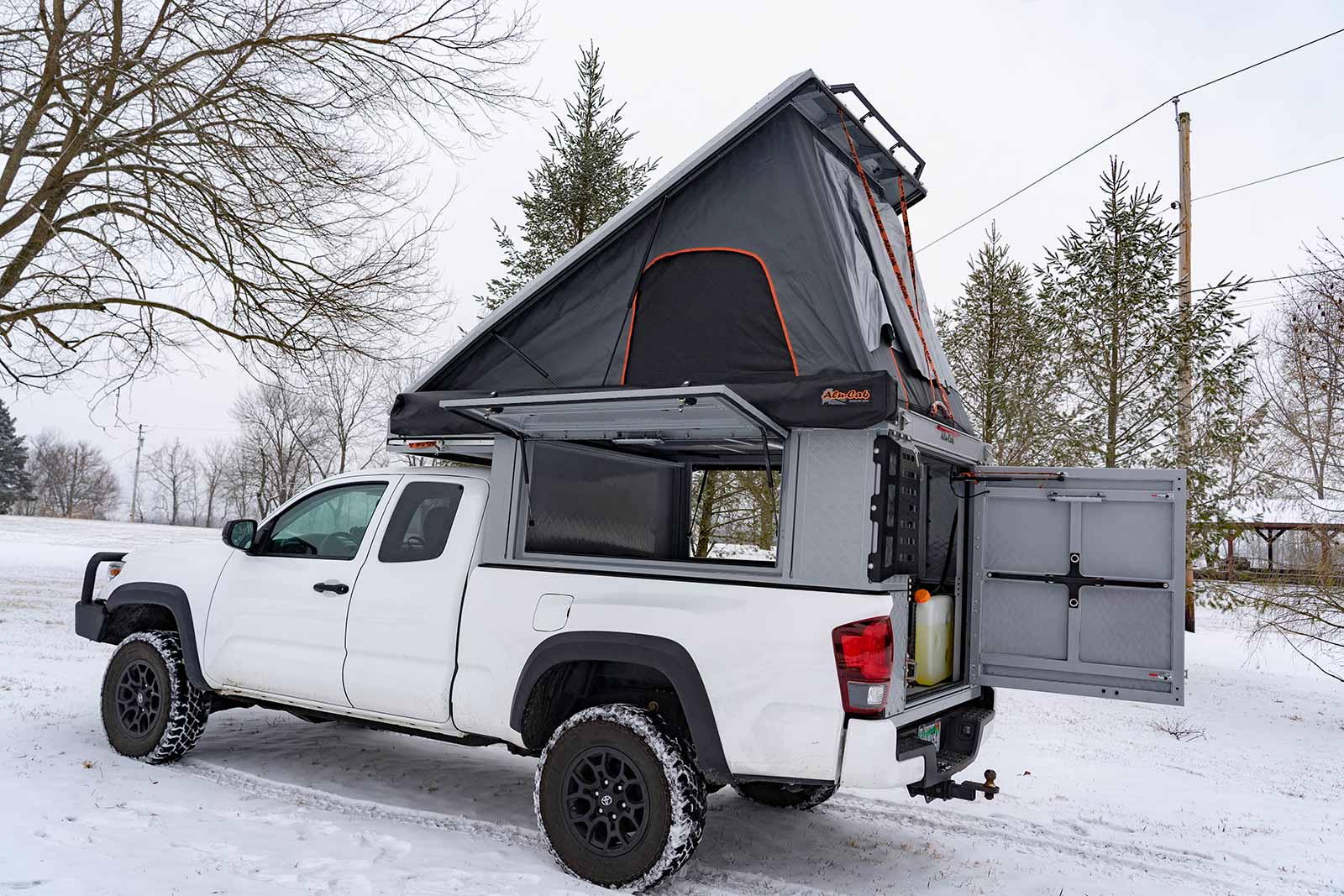 Online Garage: 2019 Toyota Tacoma outfitted with Alu-Cab Canopy Camper