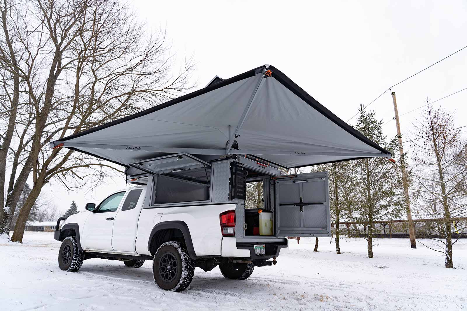 Toyota Tacoma Canopy >> Online Garage 2019 Toyota Tacoma Outfitted With Alu Cab