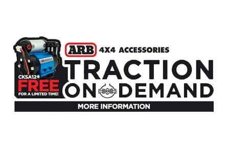 Buy an ARB Air Locker, Get Free ARB Air Compressor