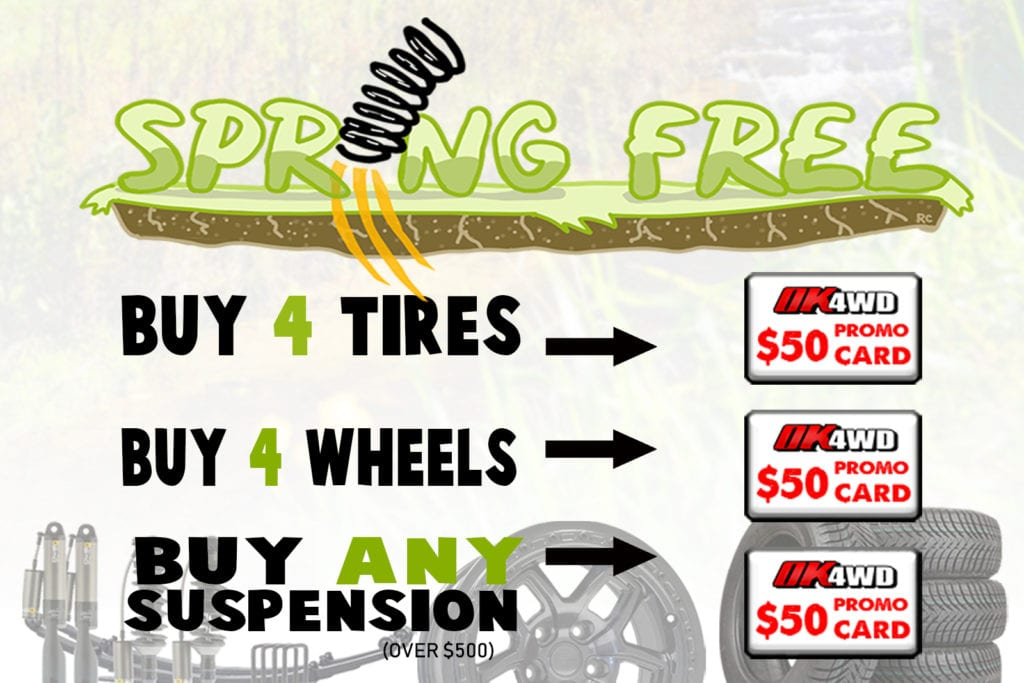 Spring Free Promotion!
