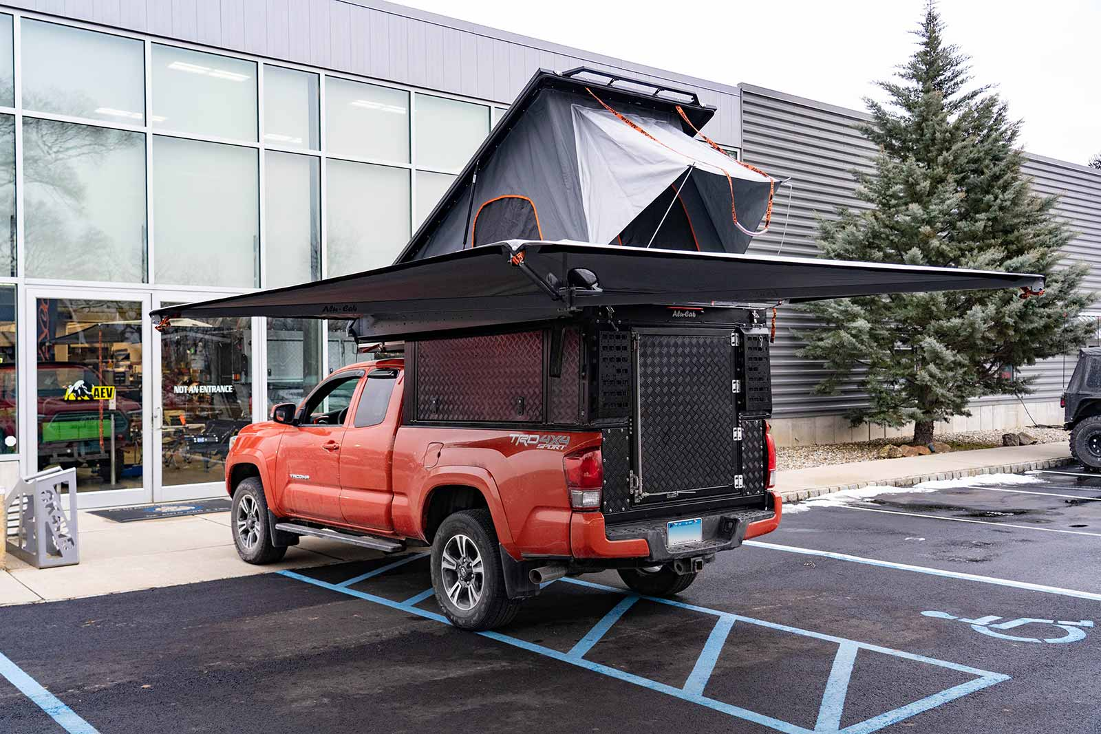 Online Garage: 2016 Toyota Tacoma outfitted with an Alu-Cab Canopy Camper