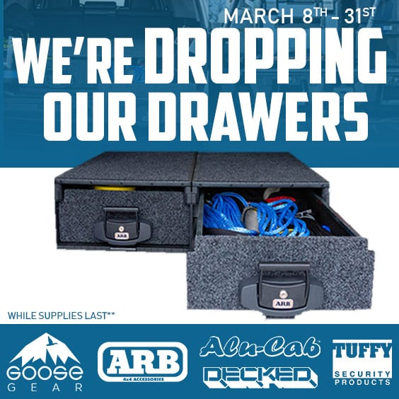 Dropping Our Drawers Promotion!