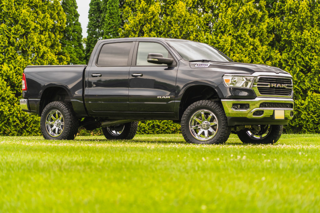 2020 Dodge Ram 1500 With Zone 6 Suspension Lift Ok4wd